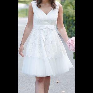 kate spade Dresses   Madison Ave White Lace Dress Sz 6   Poshmark